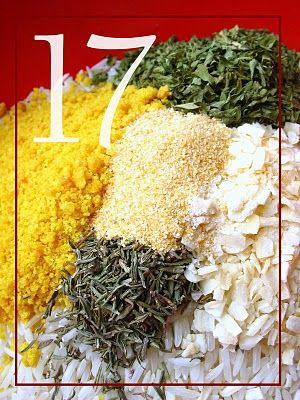 Homemade Herbed Rice Mix