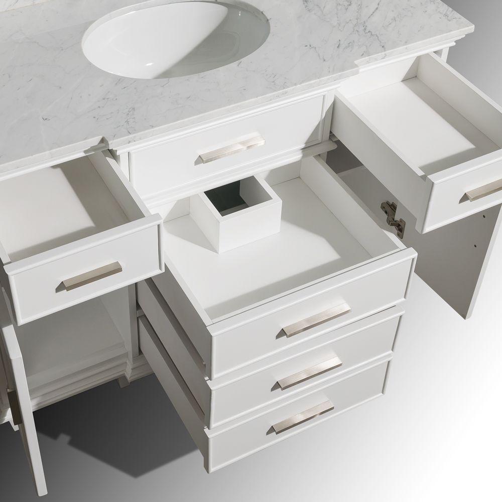 Berkeley 48 Marble Vanity Tops Small Bathroom Vanities