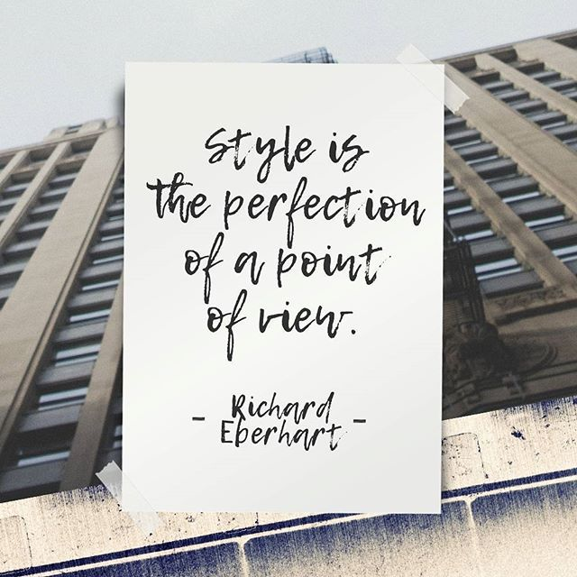 Define your style with ADD.