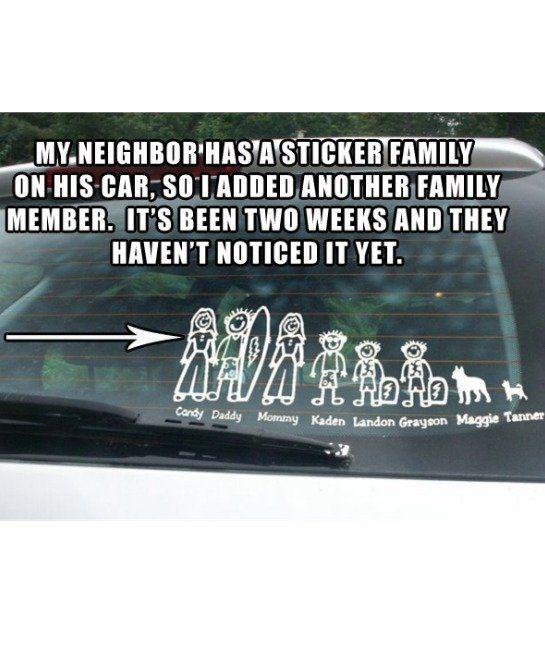 Entertainment. Family Car DecalsFamily CarsCar ShareFunny FamilySiblings