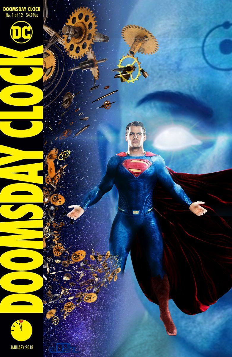 Doomsday Clock Dceu Doomsday Clock Superman Doomsday Doomsday
