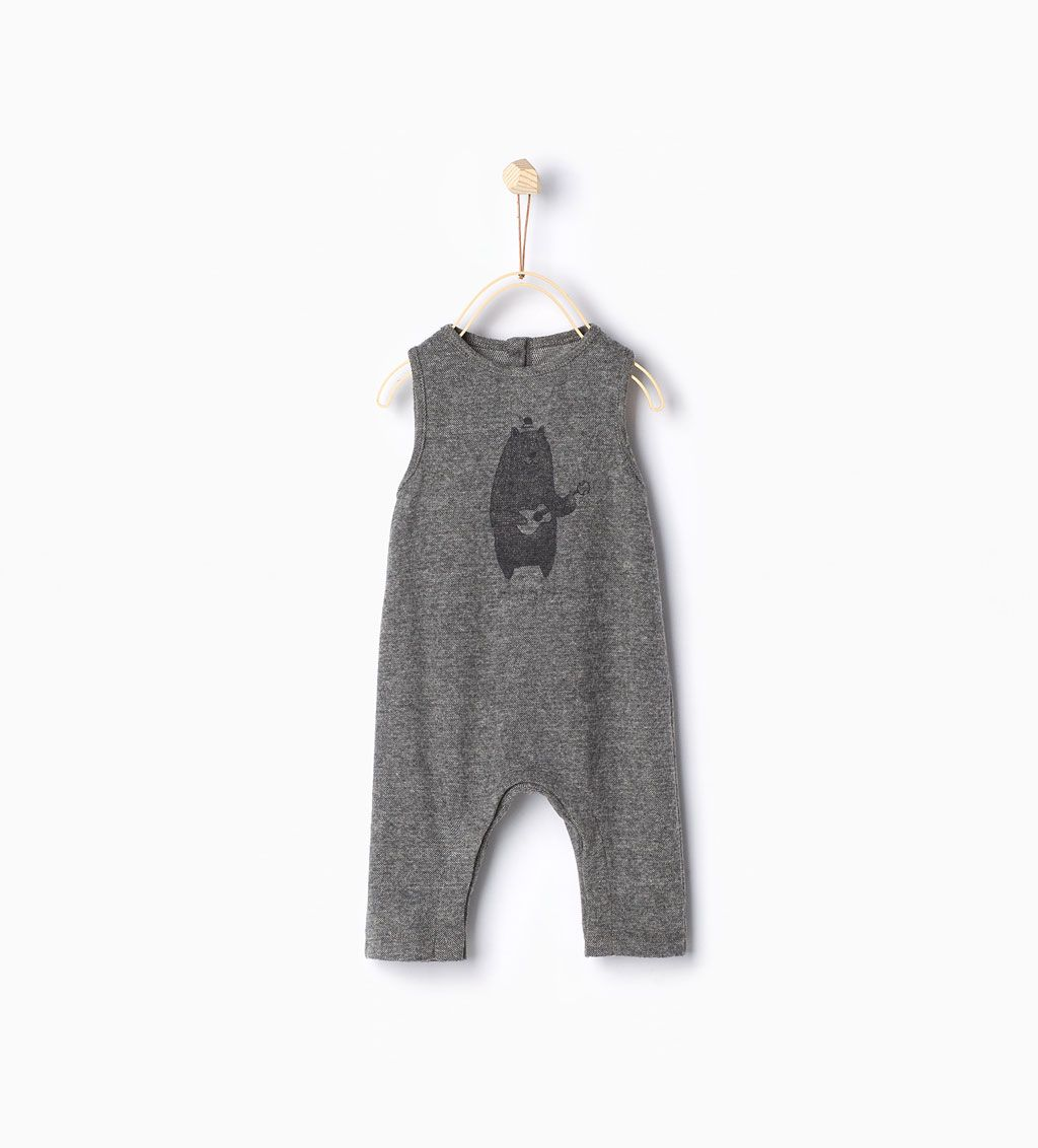 zara kids bear romper suit twins pinterest. Black Bedroom Furniture Sets. Home Design Ideas