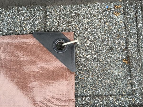 Bend A Roofing Nail For Tarp Roofing Nails Leaking Roof Drip Edge