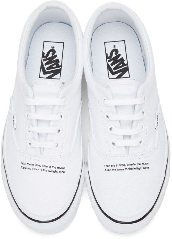 7714a02f73 Vans - White Undercover Edition OG Era LX Sneakers