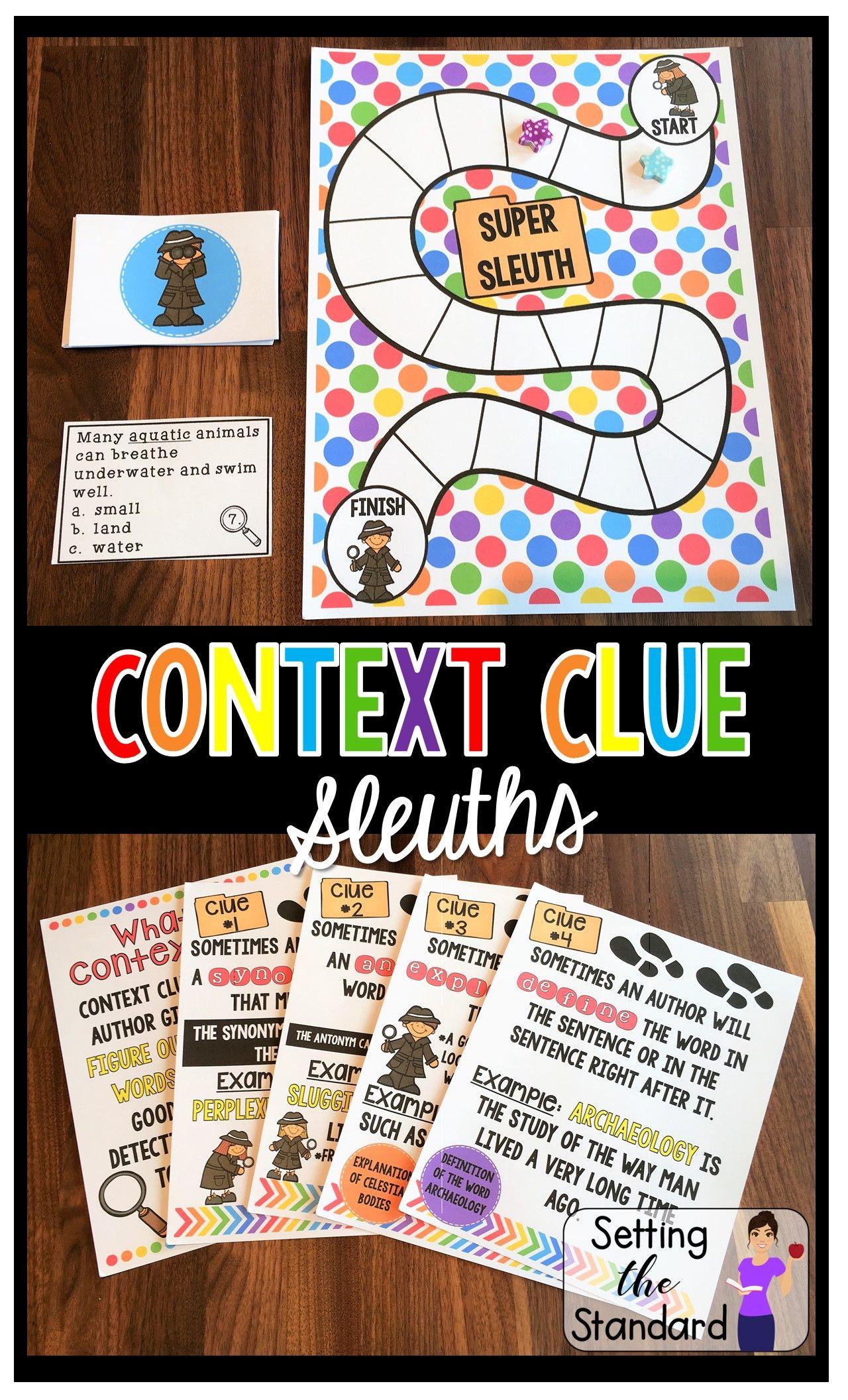 Context Clues Activities Amp Games