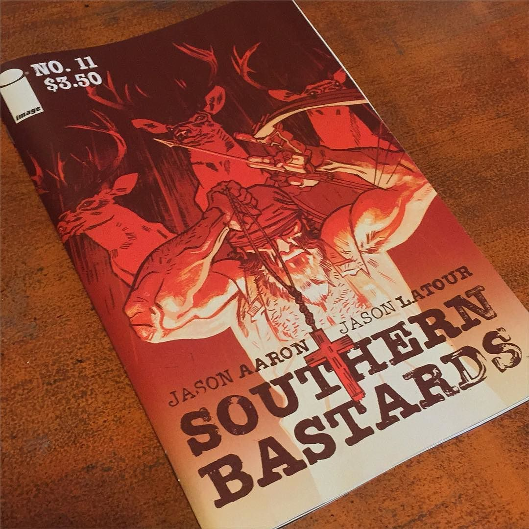 It's alive. #SOUTHERNBASTARDS #imagecomics by jasonlatour