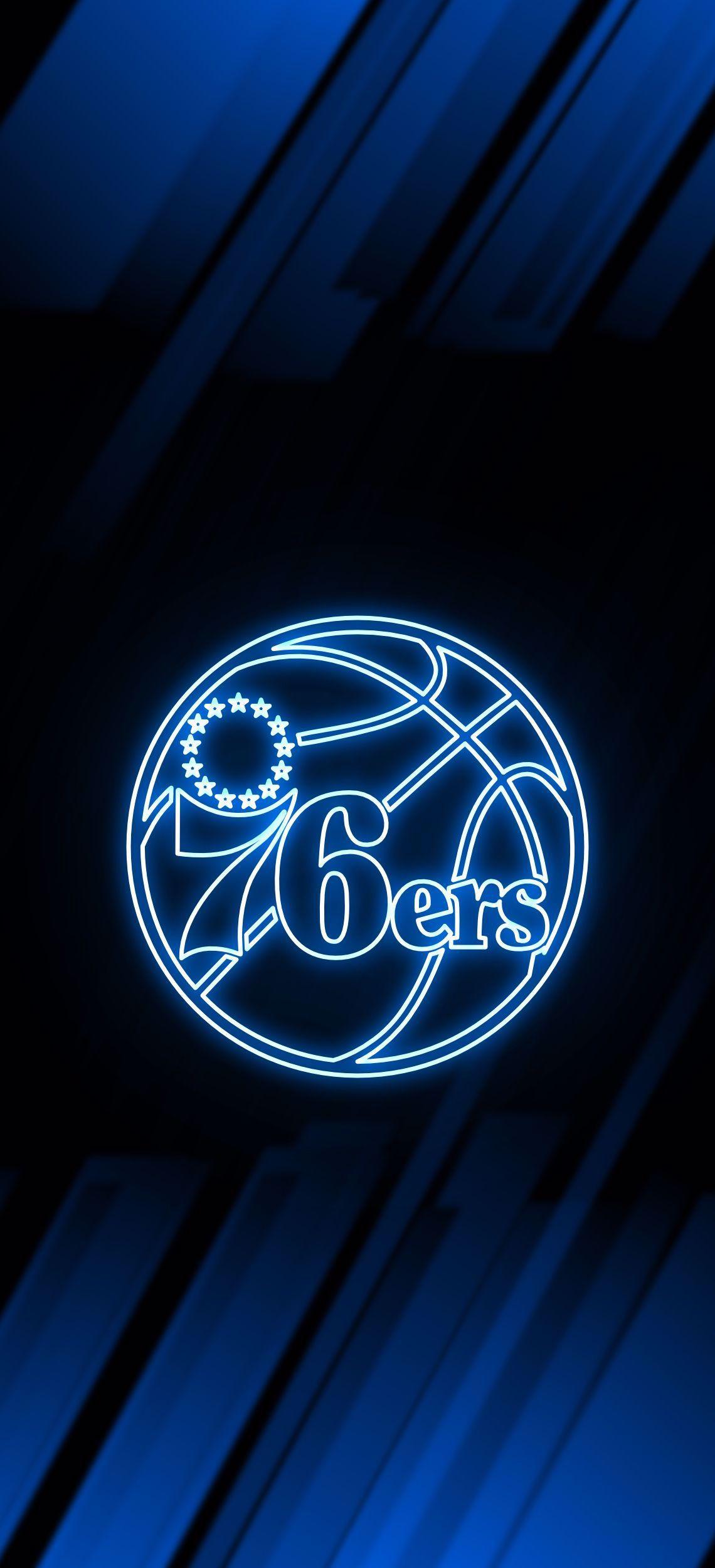 Nba Basketball Team Philadelphia 76ers Phone Wallpaper In 2020 76ers Nba Basketball Teams Philadelphia 76ers