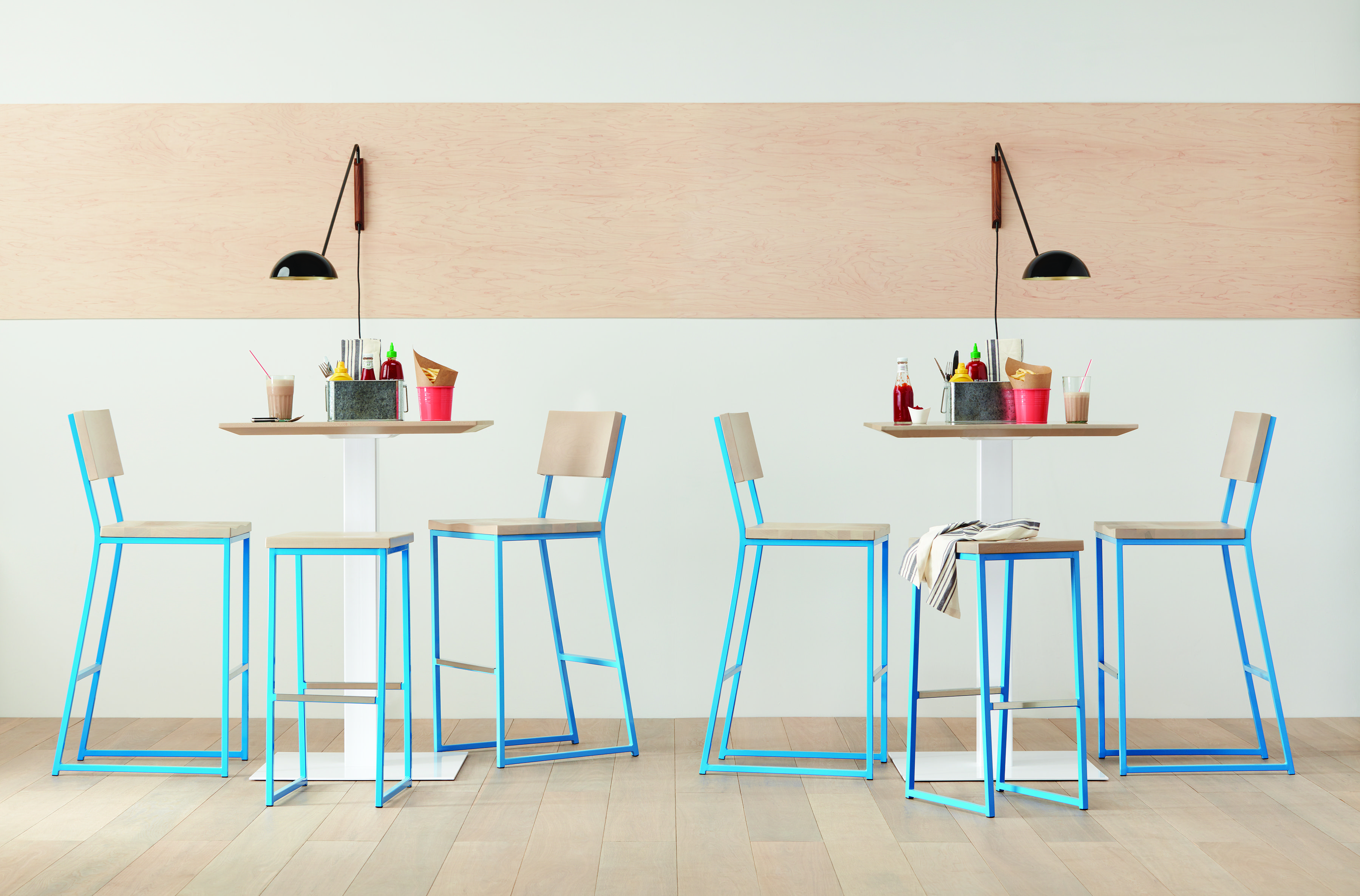 Restaurant Furniture Trends, Low Bar Stools Add Functionality And Convenience