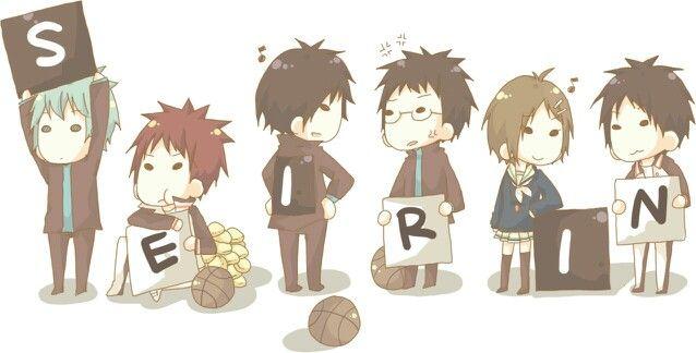 seirin kuroko no basket anime cute chibi