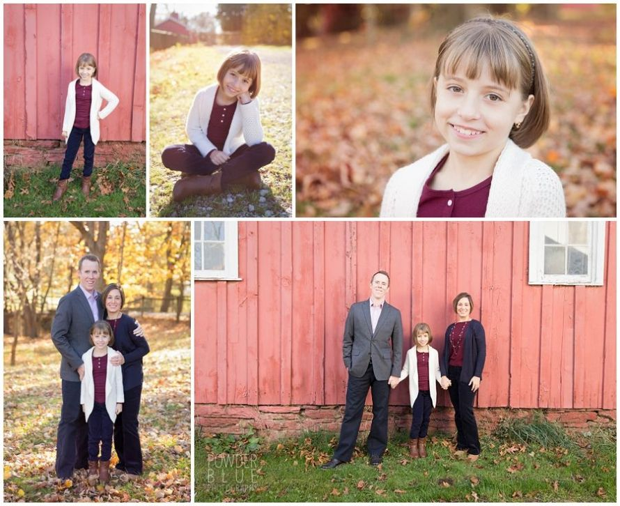 fall mini sessions at gilfillan farm with powder blue photography Pittsburgh