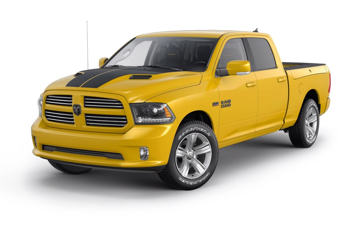 2016 Ram Sport Special Edition in Stinger Yellow