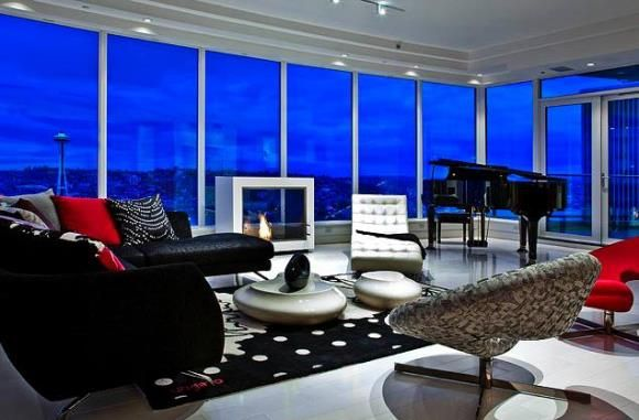 The apartment that inspired 50 Shades of Grey