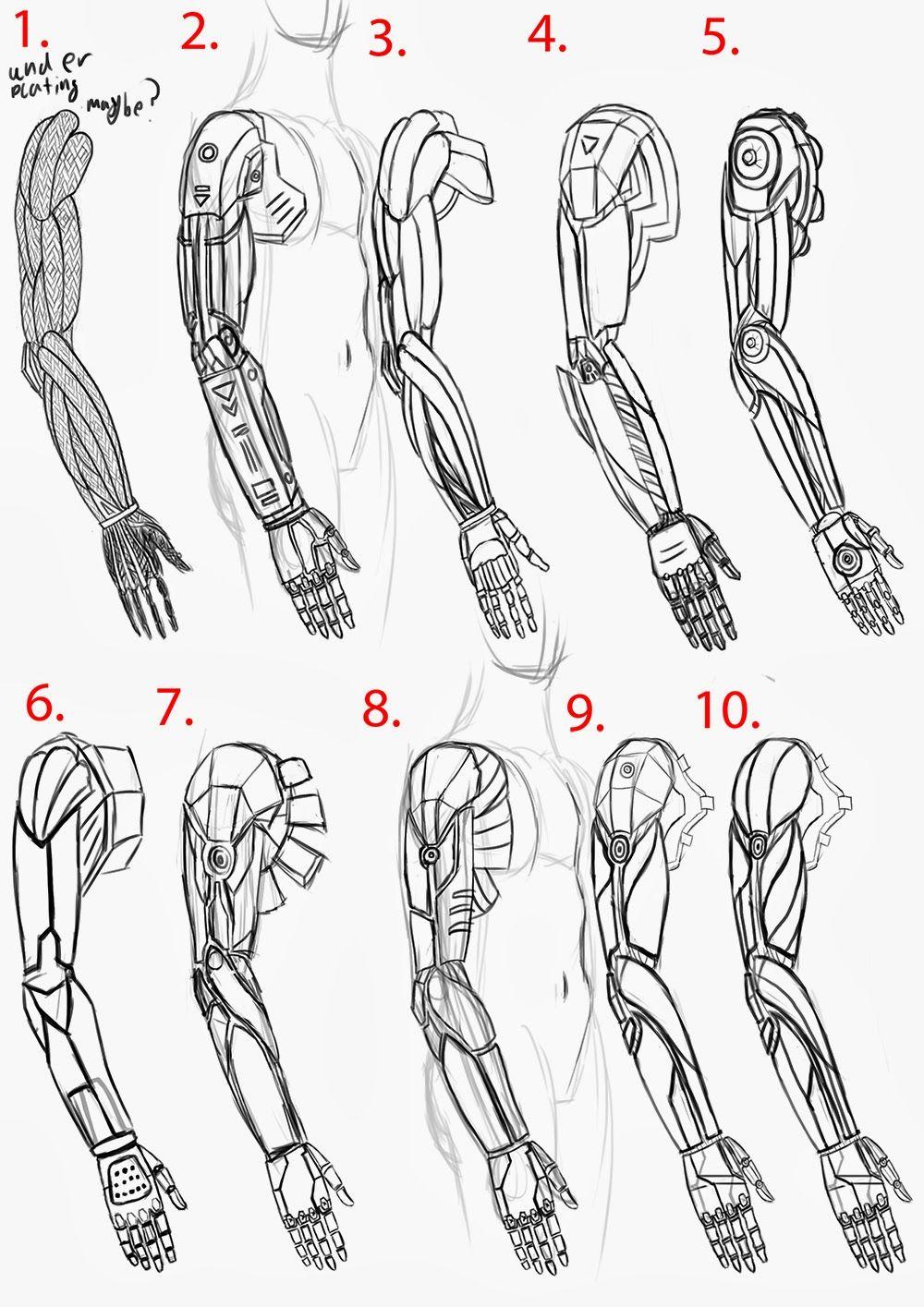 Cyberpunk Arm S K P Google Cyberpunk Inspiration