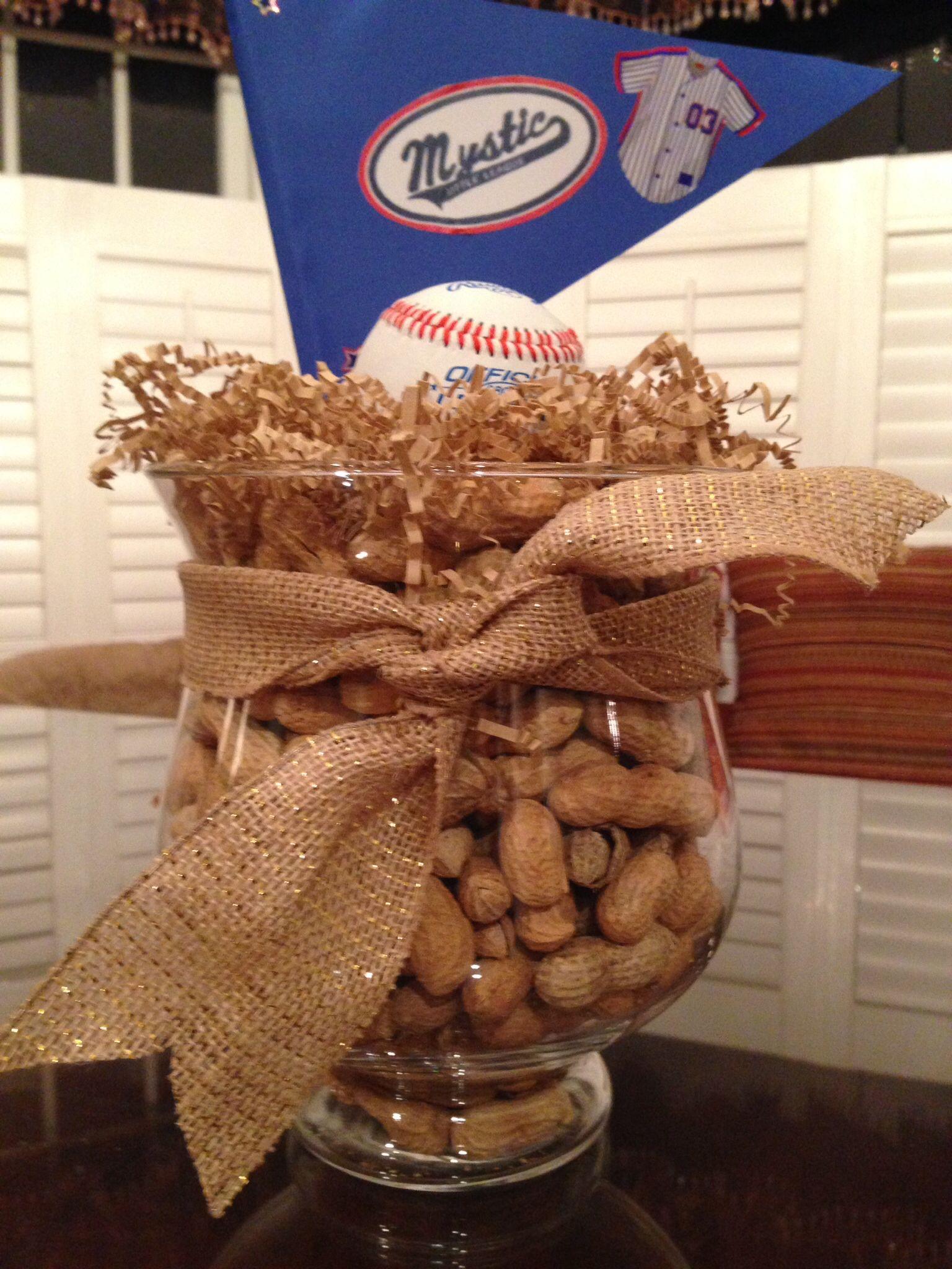 Baseball centerpieces spirit ideas pinterest baseball