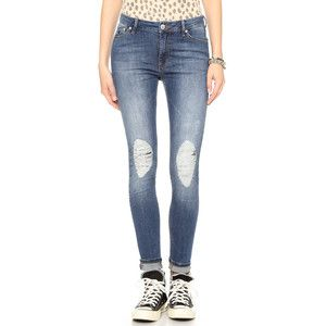 Res Denim Kitty Skinny Distressed Jeans - Delinquent Vintage