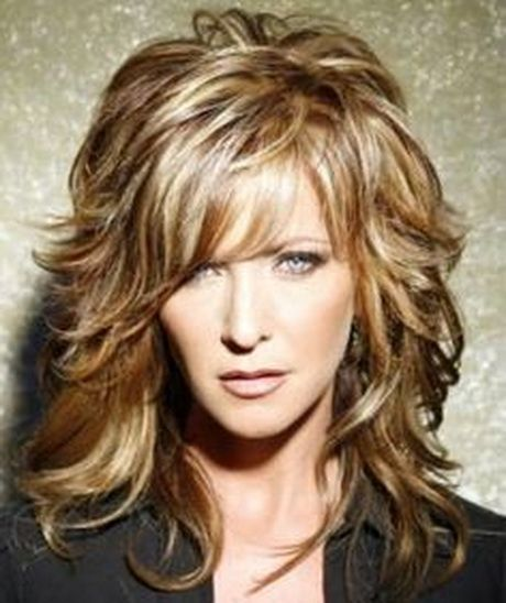Hairstyles For Women Over Fifty Hair Styles Long Hair Styles Wavy Mid Length Hair