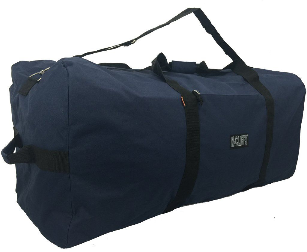 4d2c24fc9dd7 Wholesale Navy Square Cargo Duffel Bag - 600D Polyester (Case of 10 ...
