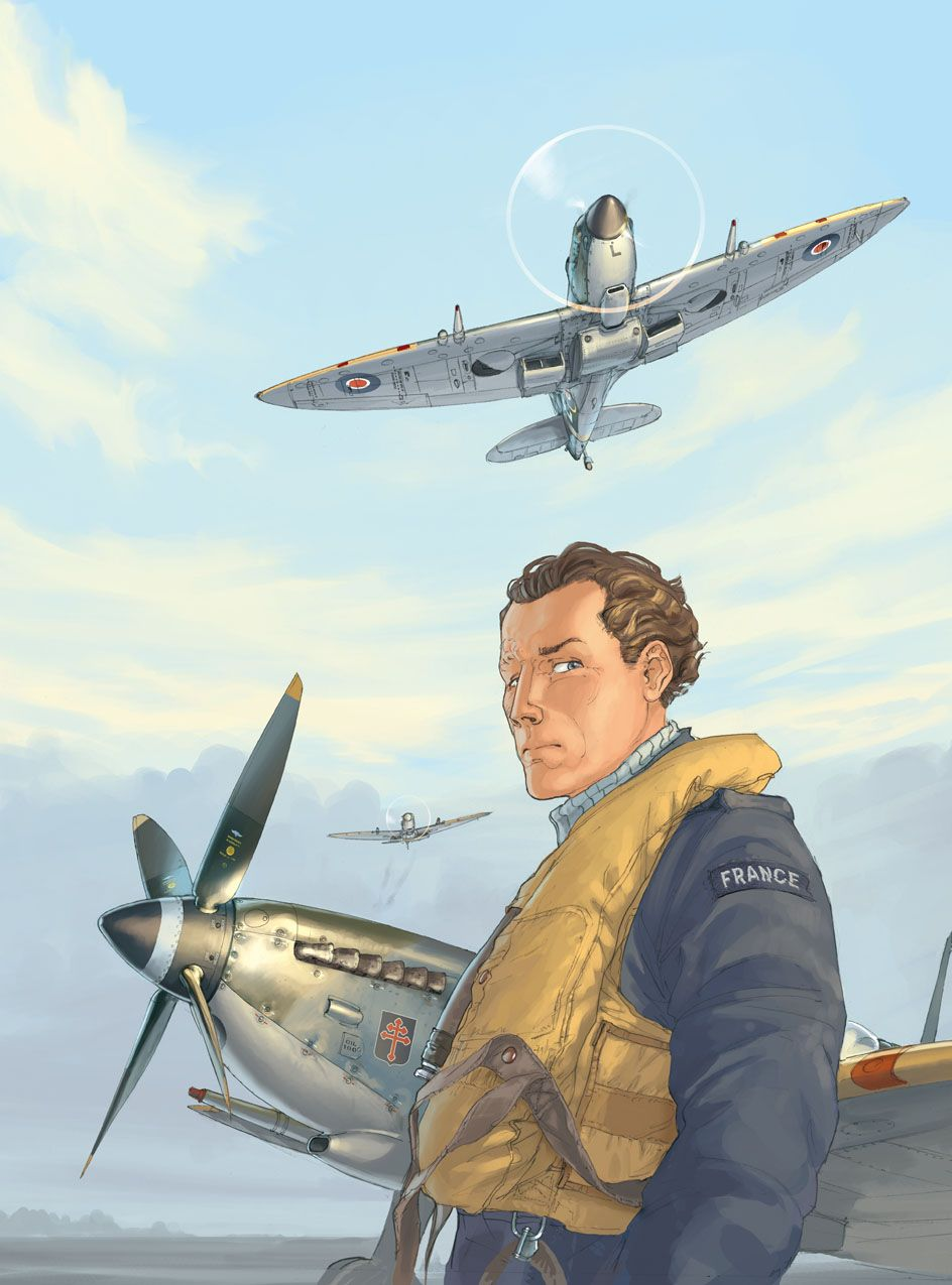 'Beyond The Clouds #3' illustrated book cover