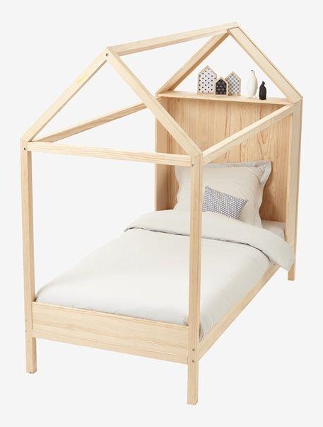 h bsch und originell dieses bett in hausform wird ihrem kind gefallen die integrierte. Black Bedroom Furniture Sets. Home Design Ideas