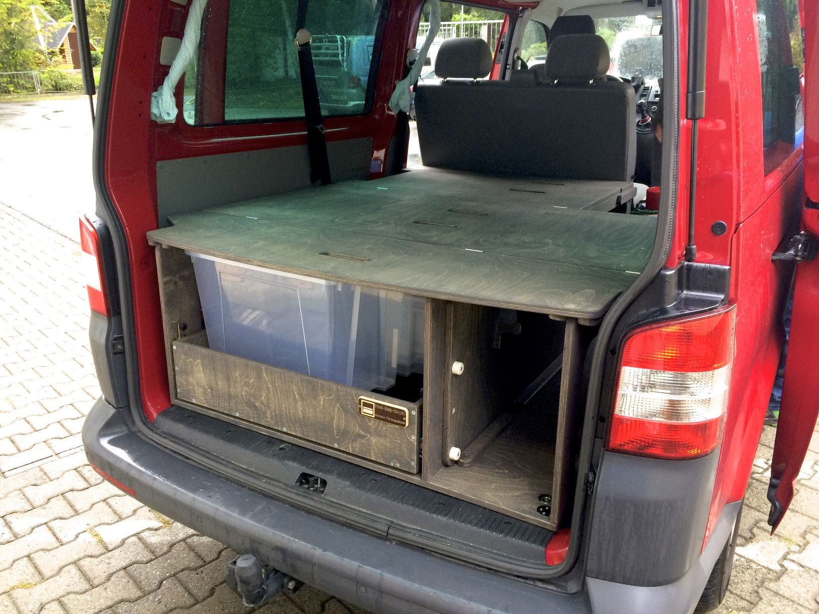 Küchenmodul t ~ Fahrzeugausbau camping multiflexboard alternative vw t5