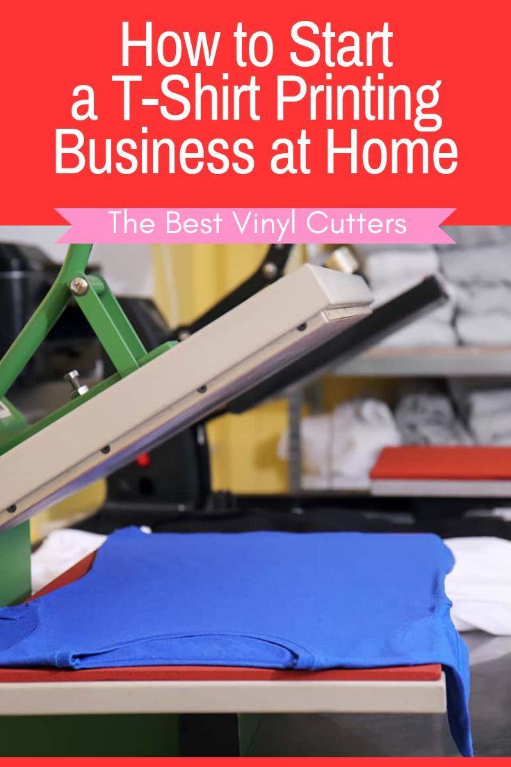 How to start a tshirt printing business at home diy