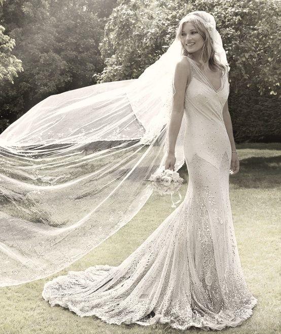 Kate Moss Wedding Dress, Gorgeous Wedding Dress