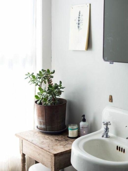 einfache und kreative baddeko  30 ideen fürs moderne