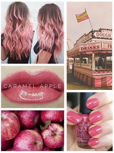 Lipsense Caramel Apple Lipsense Collages Back To School Makeup Fall Lip Colors