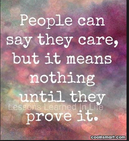 Care Quotes Sayings About Caring 38 Quotes Doesnt Care Quotes Image Quotes Care Quotes