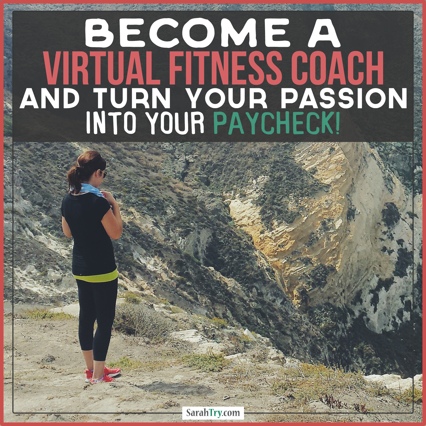 Business Inspiration! Passionate about Fitness? Turn Your Passion into your Paycheck! I have built a 6 figure business as a Virtual Fitness Coach. Learn more about my mentorship programs to help you do the same! www.SarahTry.com/beafitnesscoach