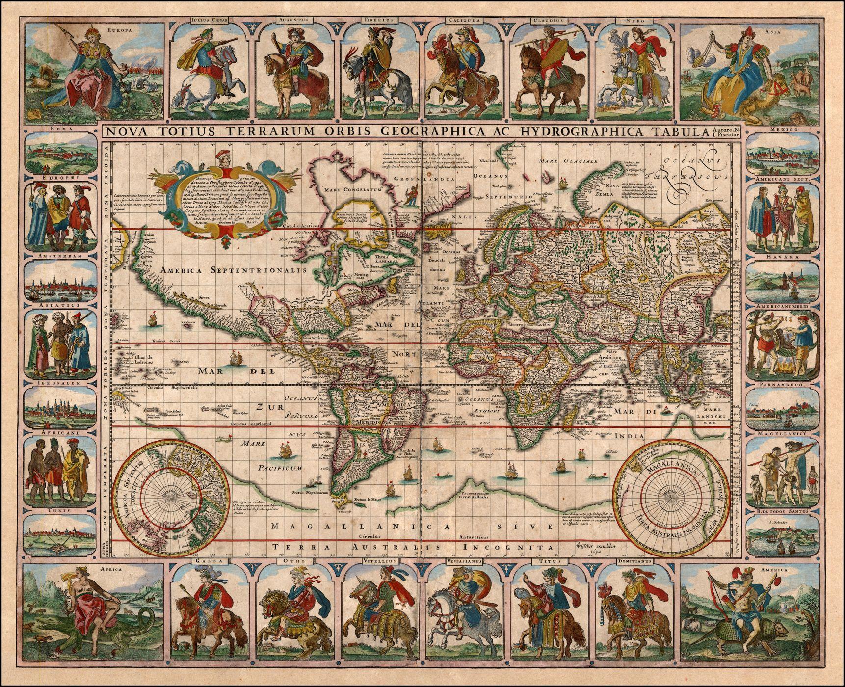 mapamundis antiguos - Google Search | Mapas antiguos | Pinterest ...