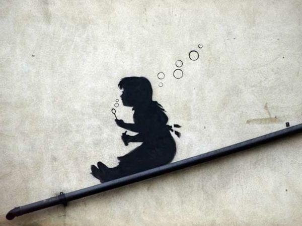 Straßen Zeichnung rutschen mädchen idee | Kunst/ Art - | Pinterest ...