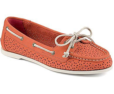 Sperry Top-Sider Audrey Perforated Slip-On Boat Shoe