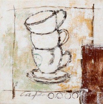 Koffie, koffie, lekker bakske......www.schilderijenshop.com