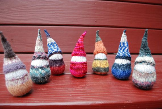 knitting pattern chubby gnome