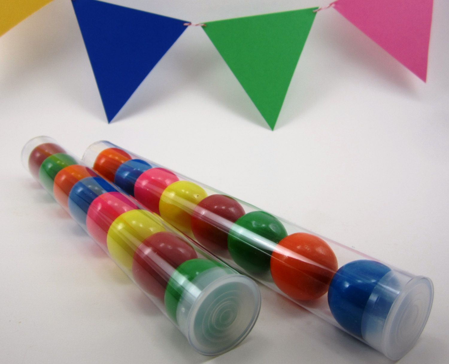 5 Clear Plastic Candy Tubes With Plastic Cap 8 by PinkPickerParty ...