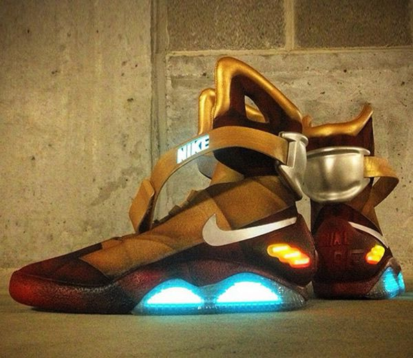 separation shoes d6413 d561e Customized  Iron Man  Nike Mags!  Pics  I need these in my life!