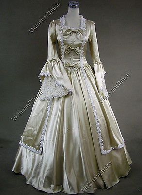 Lolita Victorian gothic aureate long-sleeved ball dress - i hate that i  love this almost white dress.