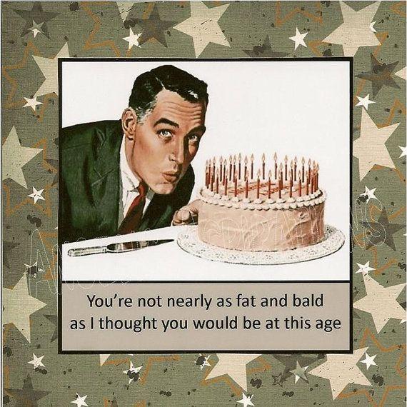 Happy Birthday Vintage Funny - Google Search