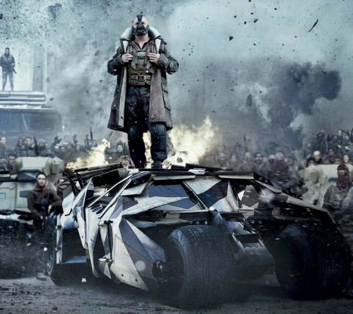 Bane: recently one of the best comic based characters to grace the big screen