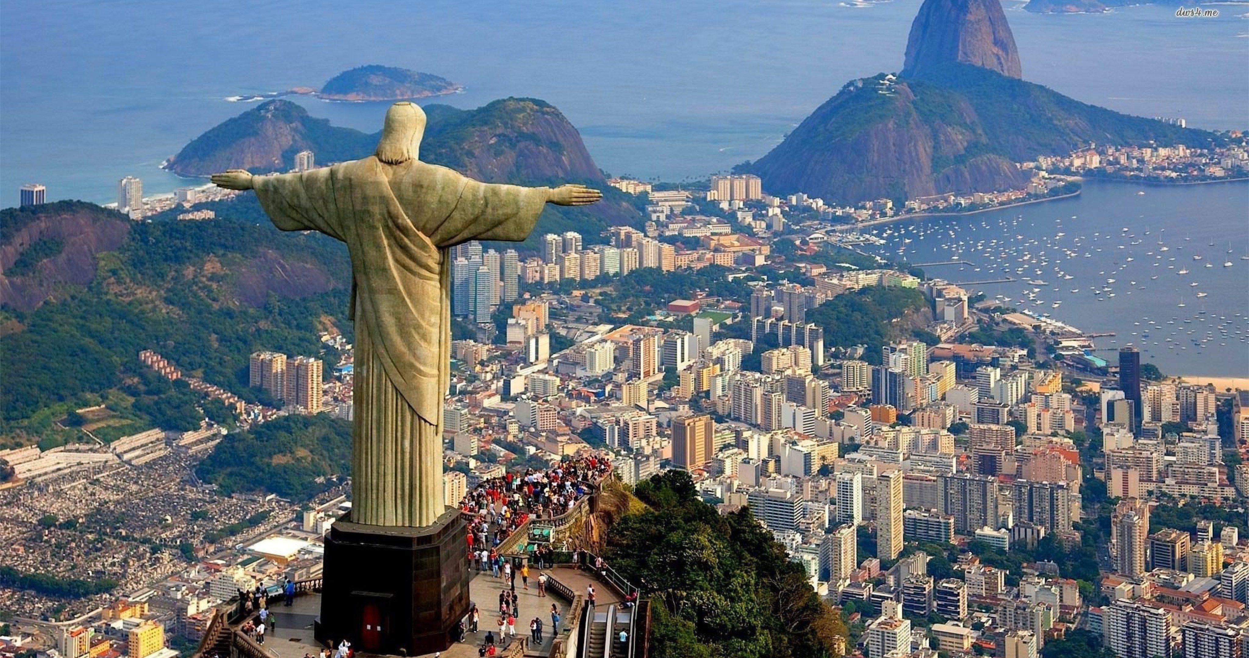 Rio De Janeiro Brazil Mountain 4k Ultra Hd Wallpaper Rio De