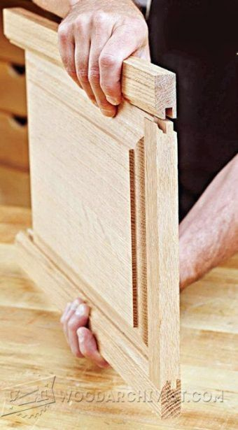 Frame And Panel On Table Saw Cabinet Door Construction Techniques