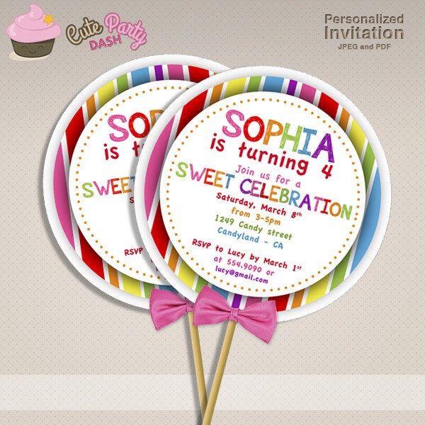 Sweet shop candyland birthday party diy lollipop invitations sweet sweet shop candyland birthday party diy lollipop invitations sweet shoppe diy printable lollipop invite filmwisefo