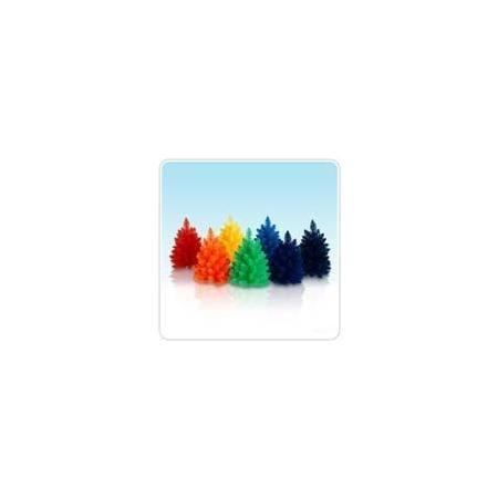 On Sale 12 Inch Unlit Rainbow Mini Tree Set 48 00 Christmas