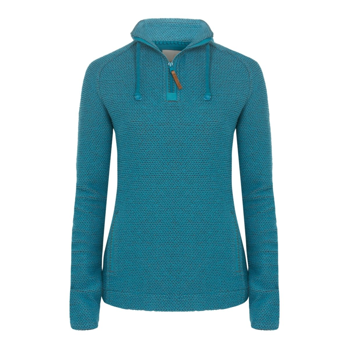 Weird Fish Womens 1/4 Zip Classic Macaroni: Biscay Bay £55