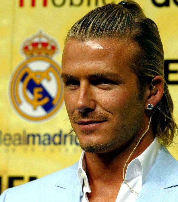 David Beckham Long Hair Google Zoeken David Beckham Hairstyle David Beckham Long Hair Beckham Hair