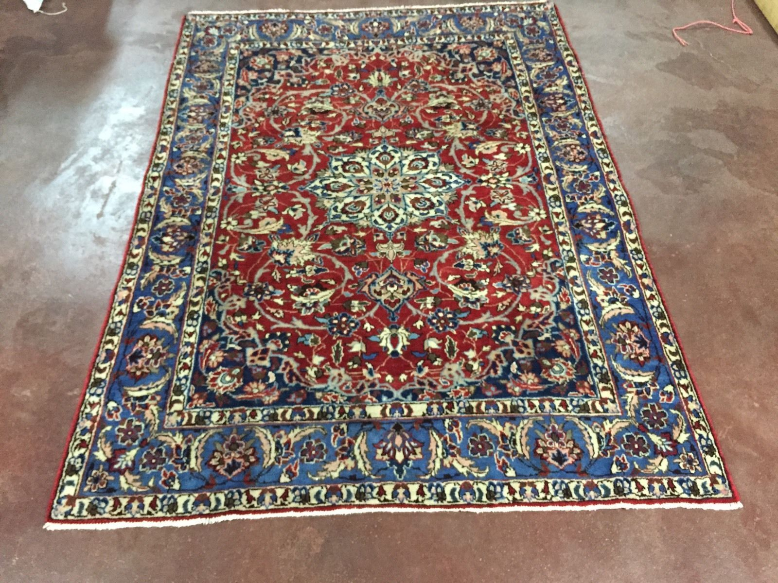 Miho Teppiche 4 100 Hand Knotted Wool Made In Esfahan Najaf Abad Iran 1