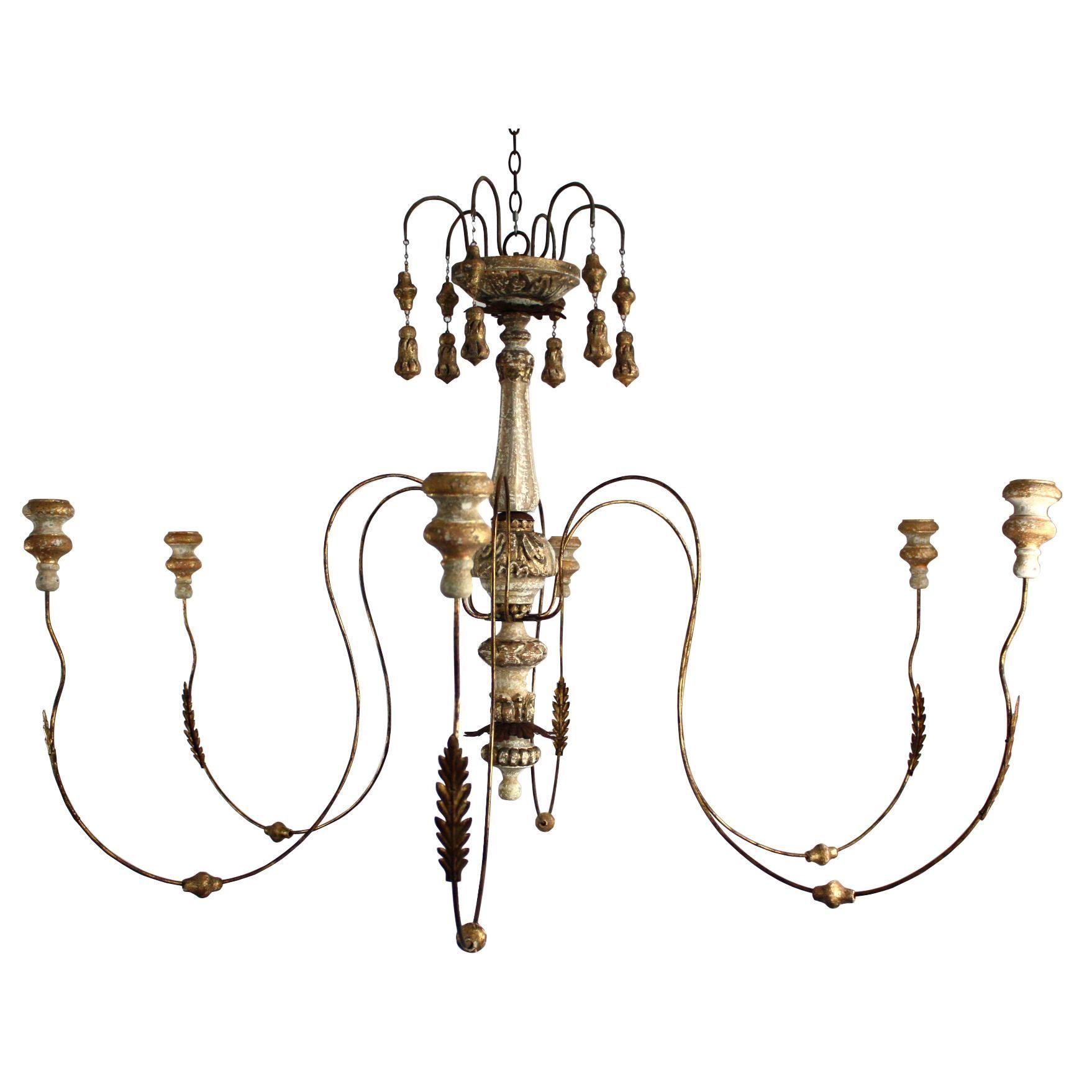 Living room light Italian Wedding Candle Chandelier