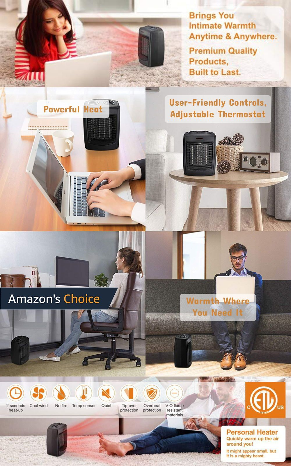 Top 10 Fan Room Heaters (Nov. 2019) Reviews and Buyers