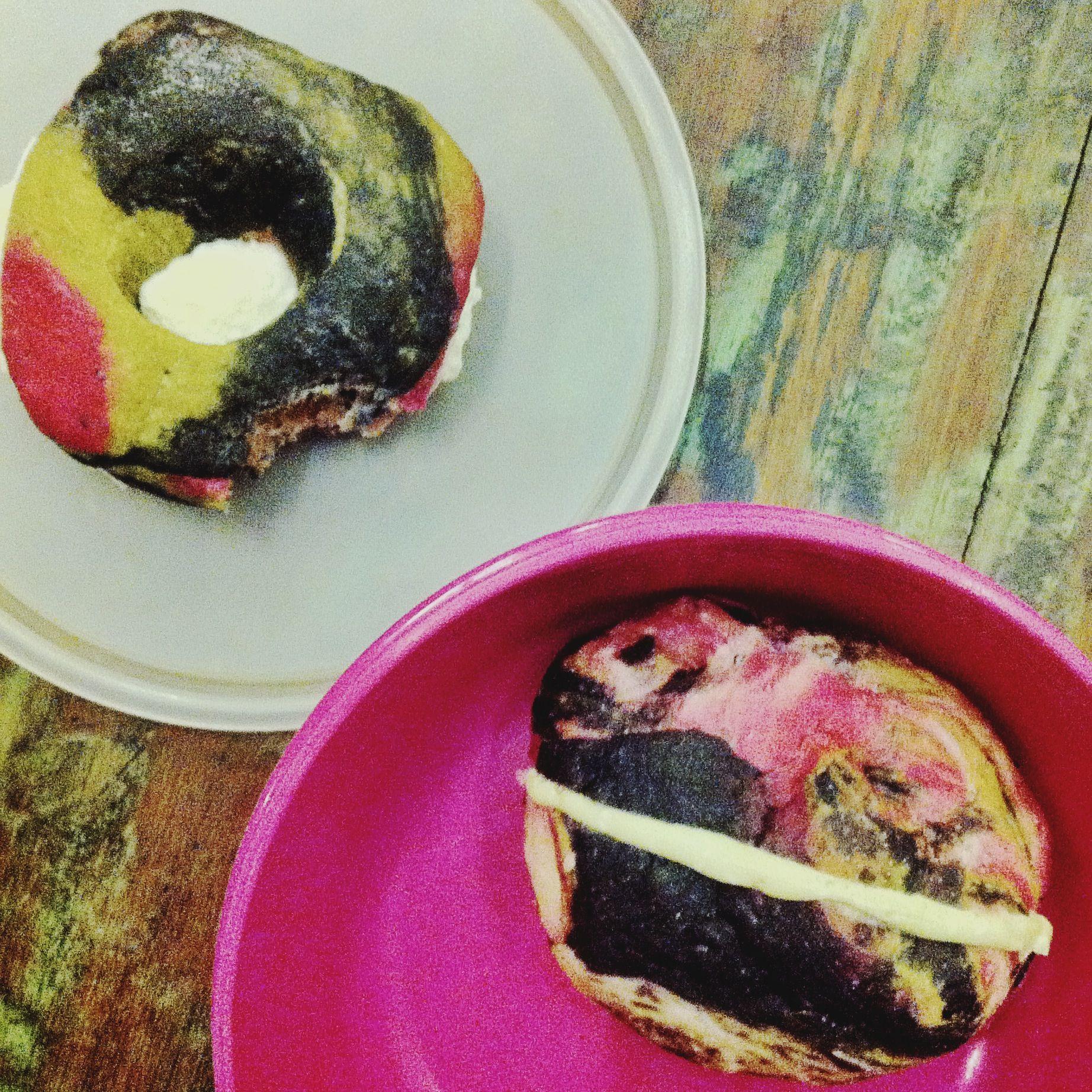 My personal favorite : Kebun Roti's natural yeast galaxy bread and donuts!